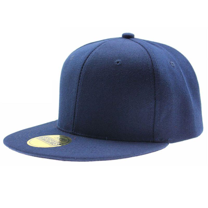 c38195edec0 Adjustable Men Women Baseball Cap Solid Hip Hop Snapback Flat Peaked Hat  Visor Snapback Flat Flat Peak Hat Baseball Cap Online with  27.26 Piece on  ...