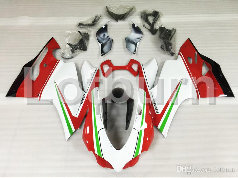 Motorcycle Fairing Kit Fit For Ducati 899 1199 2012 2013 2014 12 13 14 Fairings kit High Quality ABS Plastic Injection Molding A500