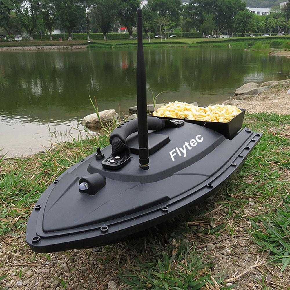 Flytec 2011-5 Fish Finder Fish Boat 1.5kg Loading 500m Remote Control Fishing Bait Boat RC Boat Ship Speedboat RC Toys (9)