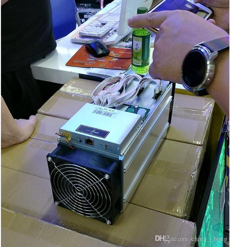 Mineiro novo de BTT do mineiro de AntMiner S9 14T Mineiro com fonte de alimentação da máquina de mineração de ASIC BTC Bitman
