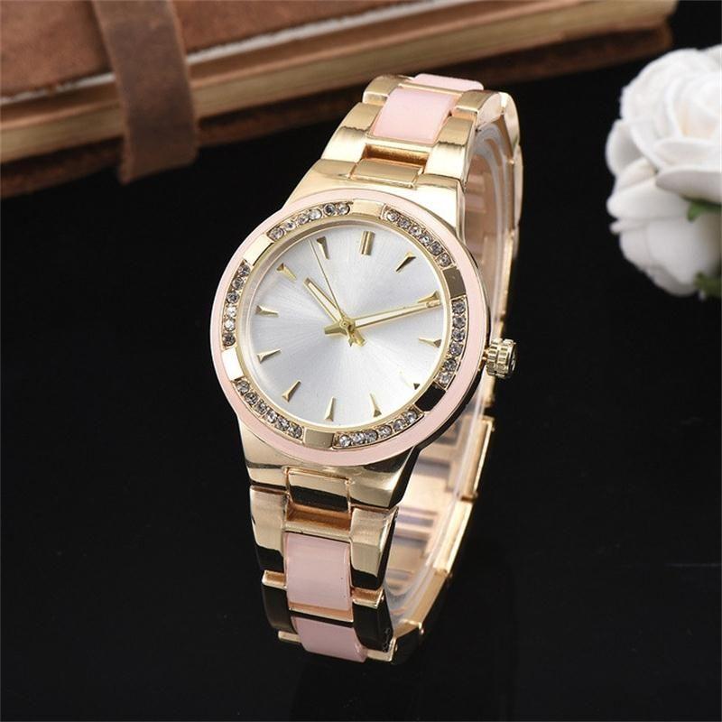f6c90dd3ffd 2018 Elegant New High Quality Luxury Watches Women Fashion Beautiful Women S  Girl Crystal Stainless Steel Band Quartz Wrist Watch Watch Deals Designer  Watch ...