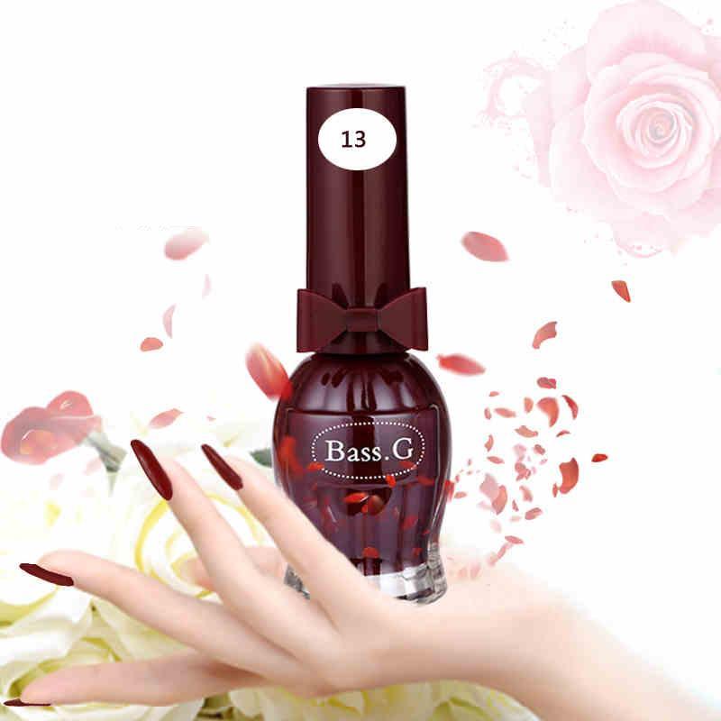 Bk Brand Wine Bottle Water Base Peel Off Nail Polish Smell Faint ...