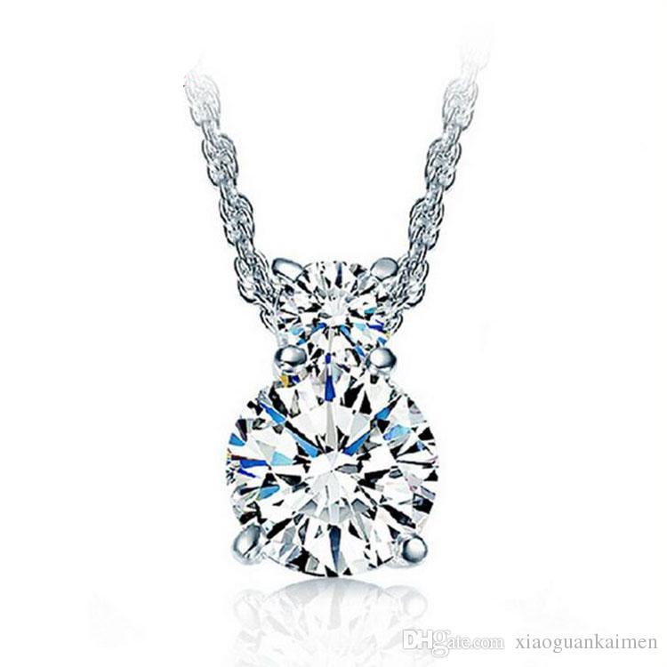 925 jóias de prata esterlina moda Cubo Mágico com pingente de prata colar de enfeites de item por atacado crença Dia dos Namorados para enviar o seu