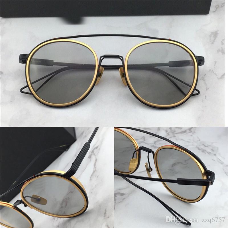 bfdfb31dc458 New Men Fashion Designer Sunglasses the System Two Series Titanium ...