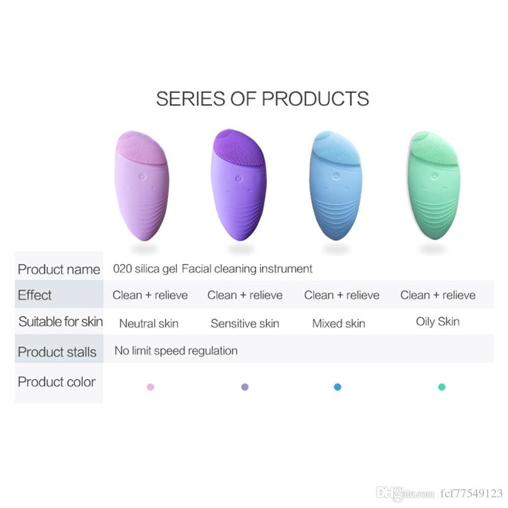 타 맥스 소닉 페이셜 클렌징 브러쉬, 실리콘 진동 방수 클렌징 시스템, 5 단계 온열 스파로 부드러운 엑스 폴리 에이 팅 제거