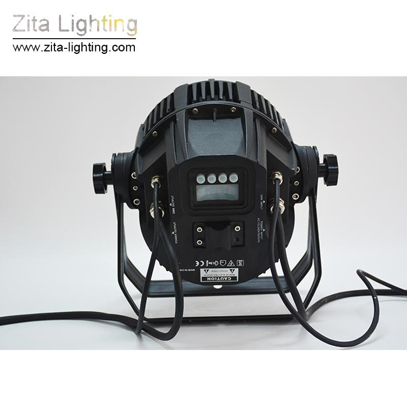 / Zita Lighting LED Par Lights Stage all'aperto può illuminare le lampadine IP65 impermeabile IPX 24X10W RGBW DMX 512 Floodlight Building Wall Washer