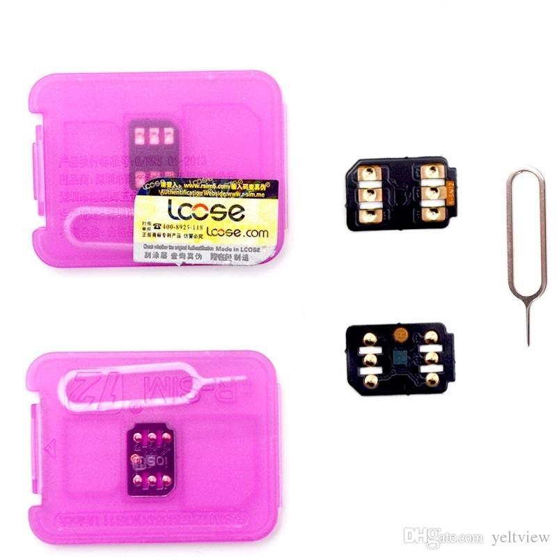 Rsim 12 r sim 12 RSIM12 unlock card for iPhone 8 iPhone 7 plus and i6  unlocked iOS 11 x-7 x 4G dhl