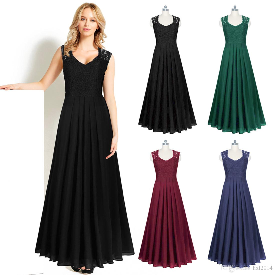 2f5c5bd05aa 2019 Women S Clothing 2019 Summer Fashion Vintage Plus Size Cocktail Prom Evening  Party Dresses Beach Dress Ball Gown Women Clothes Sundress From Hxl2014
