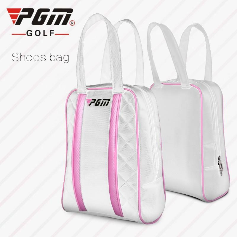 2019 PGM Golf Shoes Bag PU Waterproof Men And Women Golf Travel Bag Rain  Cover High Quality Outdoor Sports Mini Bags From Vanilla12 f8315a0bce