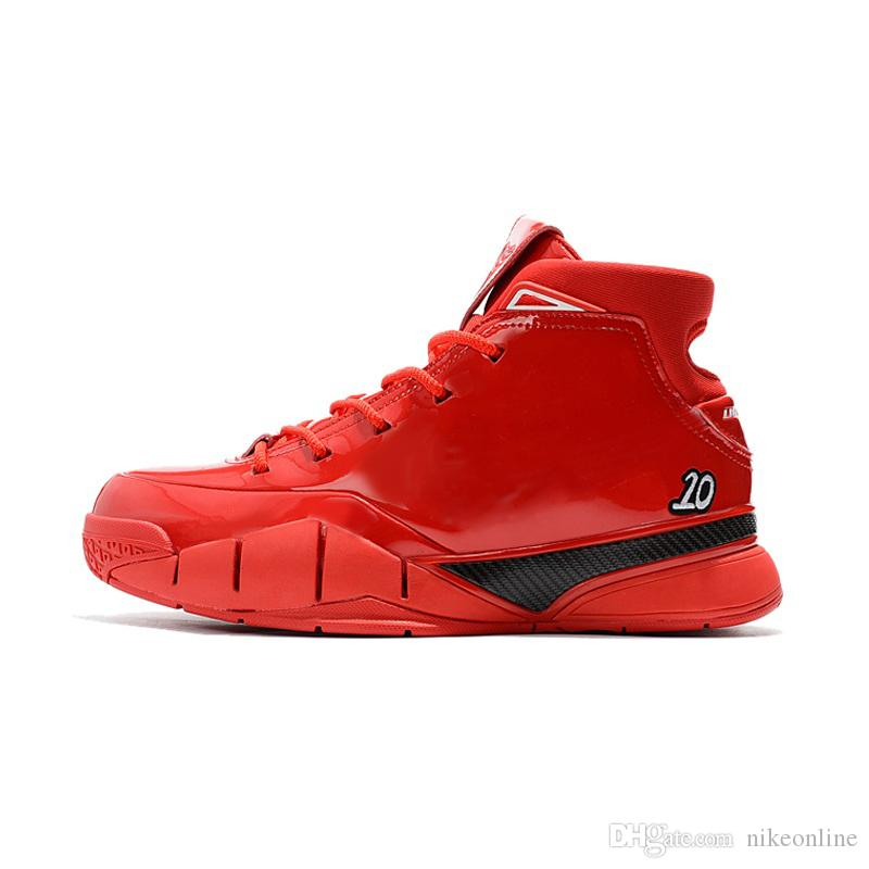 size 40 c567d 117dc 2019 Cheap 2018 New Mens Kobe 1 Protro Basketball Shoes China Red October  Demar DeRozan X Zoom Air KB ZK1 Mid High Tops Sneakers With Original Bo  From ...
