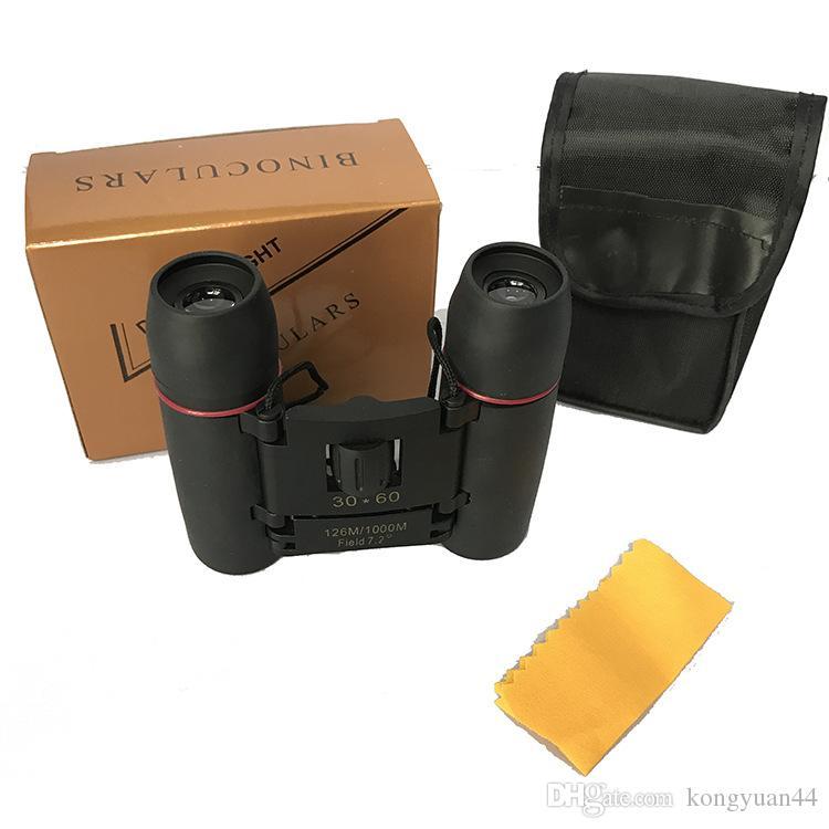 SAKURA BINOCULARS Professional 30 x 60 30x60 Zoom Outdoor Travel Folding Day Vision Jumelles Télescope 126m à 1000m