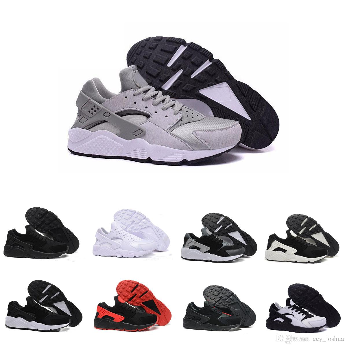 Cheap Air Huarache 2 Ultra Classical All White And Black Huaraches Shoes  Men Women Sneakers Casual Shoes Size 36 45 Online For Sale Green Shoes Most  ... 2bd7015bc