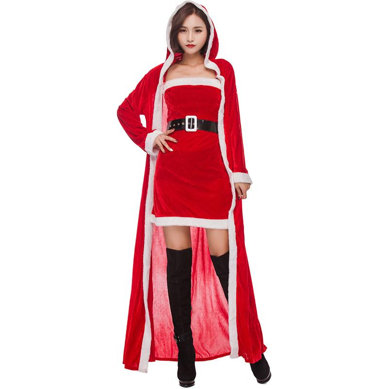 Christmas Gift Bar Studio Christmas Party Girl Cosplay Costume Free Shipping