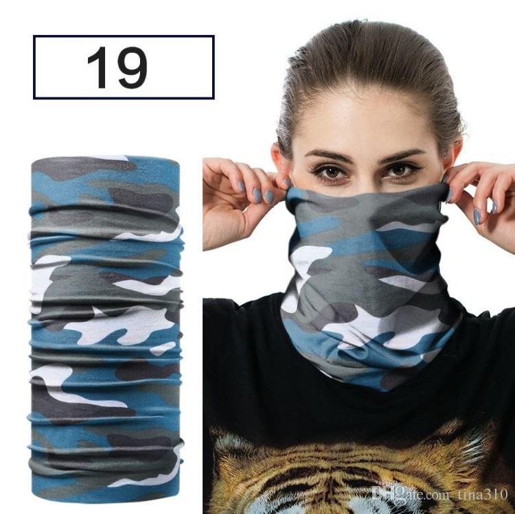 Nouveau foulard en plein air équitation foulard Sport vélo masque Sweat Multifonction sans couture écharpe Bonne élasticité T4H0390