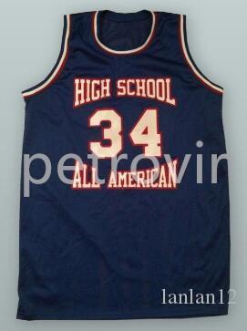2018 High School All American Basketball Jersey Custom Player And Number  Embroidery Stitched Custom Any Number And Name From Lanlan12 b4b3986b2