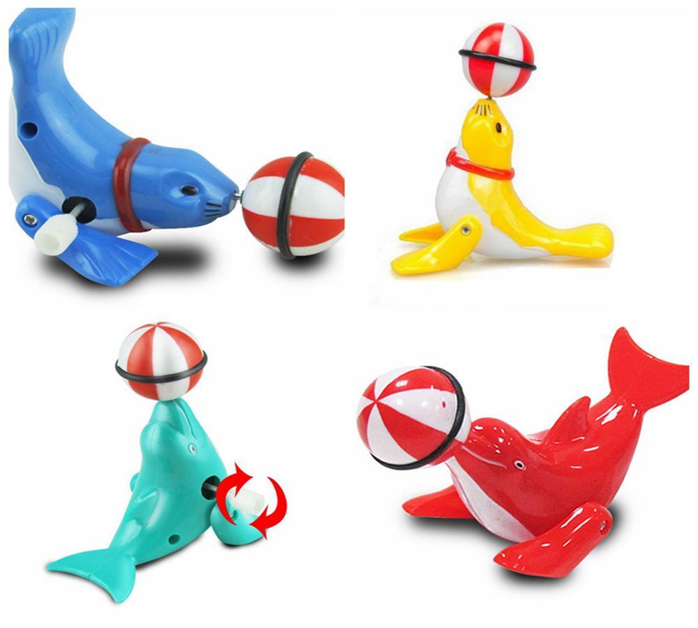 Baby Dolphin Ball Clockwork Toys Cartoon Animal Dolphin Toys Mini ...