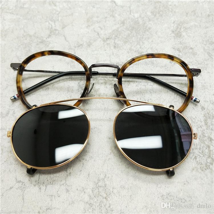 ce9715c142 Men Optical Glasses Frames With Polarized Lens Sunglasses Brand ...