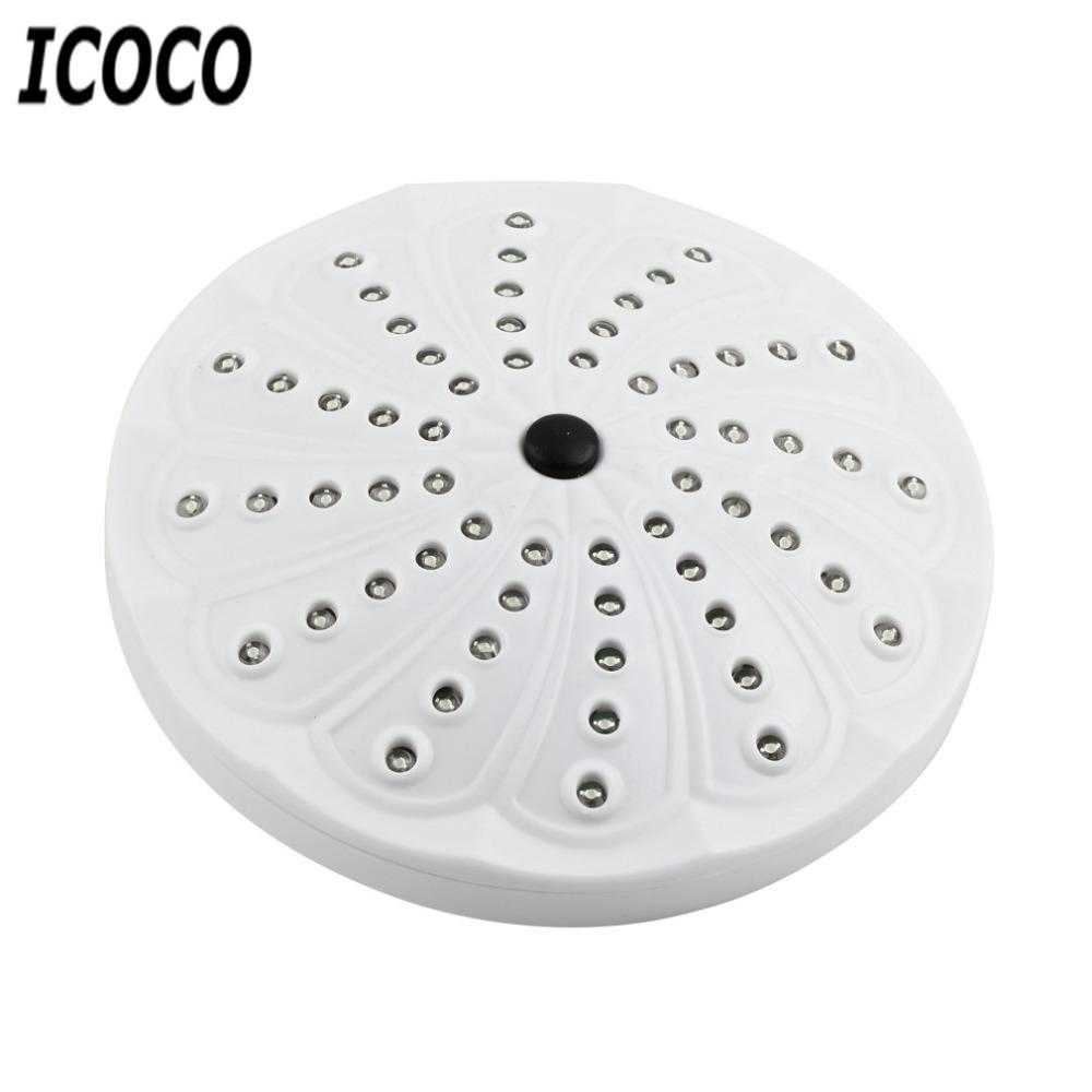 ICOCO New 1pcs 60 LEDs Lantern Tent Light Lamp Portable Outdoor White Light for Camping Fishing Hiking Flash Deal Promotion Sale