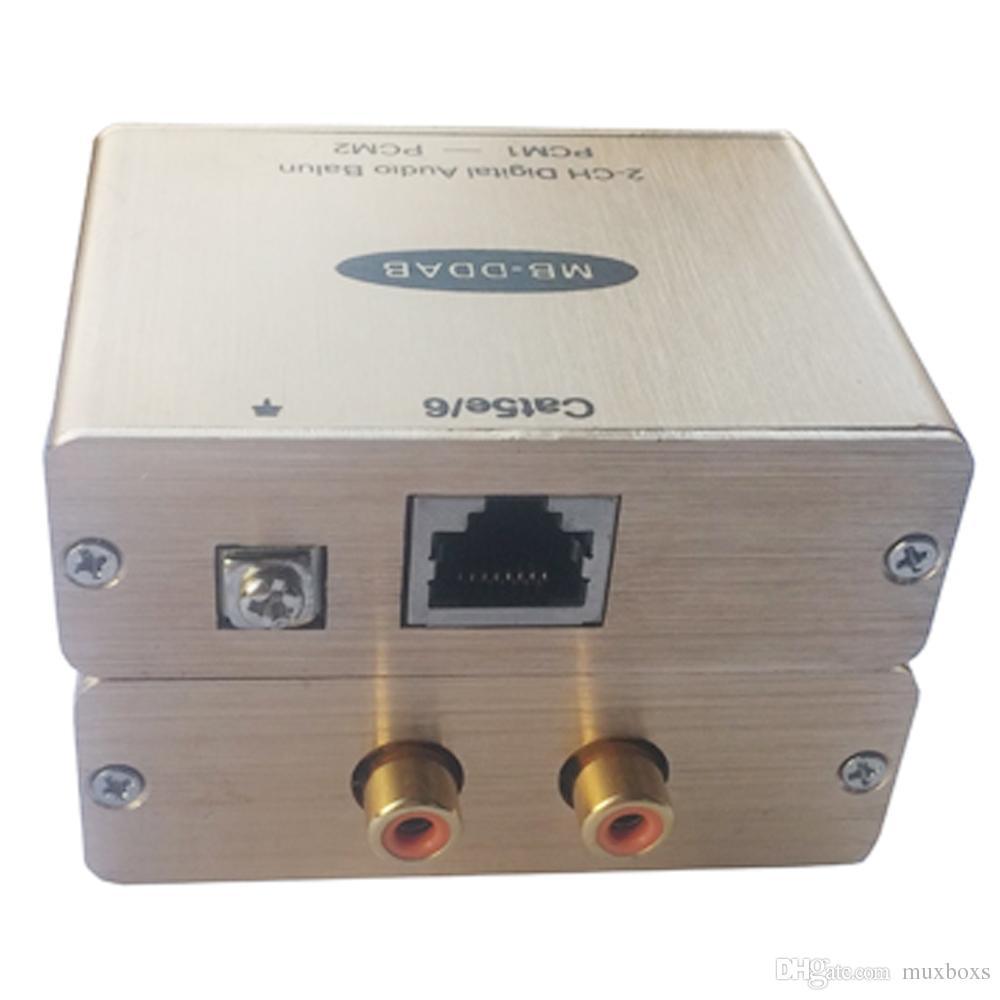الصوت الرقمي إلى محول Cat5 اقناع الصوت لتحويل RJ45 SPDIF إلى RJ45 موسع
