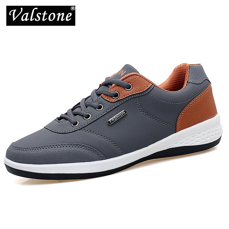 9a1f38cc Wholesale Men'S Casual Leather Sneakers Spring Daily Shoes Non Slip Flats  Outdoor Walking Shoes Light Weight For Jogging Hot Sale Mens Boat Shoes  Boat Shoes ...