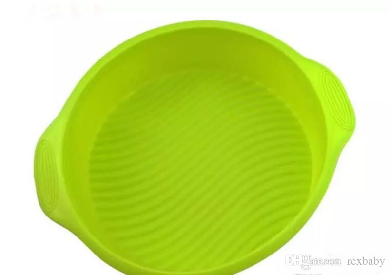 Silicone Cake Pan Round Baking Molds Food Grade High Temperature Resistant Round Cake Pan Baking Mould Eco-Friendly Bakeware