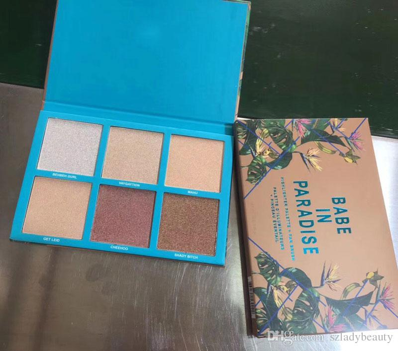 2018 Lamer X Bretman Rock Babe In Paradise Highlight Eyeshadow Foundation Concealer Shadow Palette Best Becca Waterproof DHL 660292