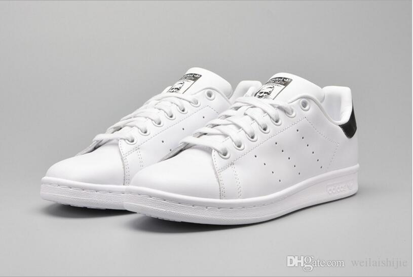 the latest 2a3dd 2f996 Big size36-44 Fashion Brands Stan Smith shoes men women casual shoes 36-44  white musial Stan Smith skateboard shoes