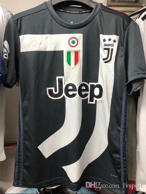 Juventus Dream Memento Jersey 2018 18 19 Juves Ronaldo Blanco Y Negro Juego  Versión Conceptual Camiseta De Fútbol Camiseta De Entrenamiento Por  Lvsport eb1a4987cb320