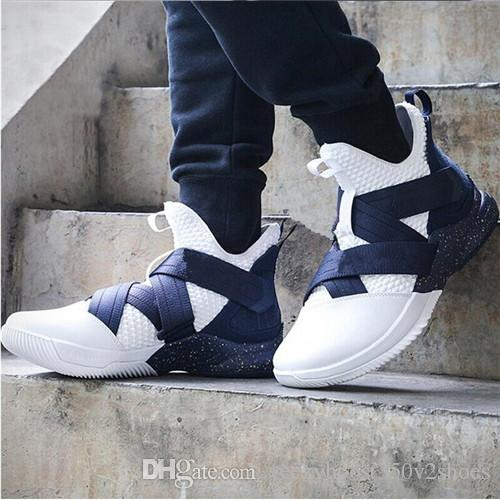online store 4a821 d89f1 2018 new soldier 12 Basketball Shoes Mens ZOOM 12s EQUALITY EP Sports  Training Sneakers Wheat Steel designer shoes XI mens shoes