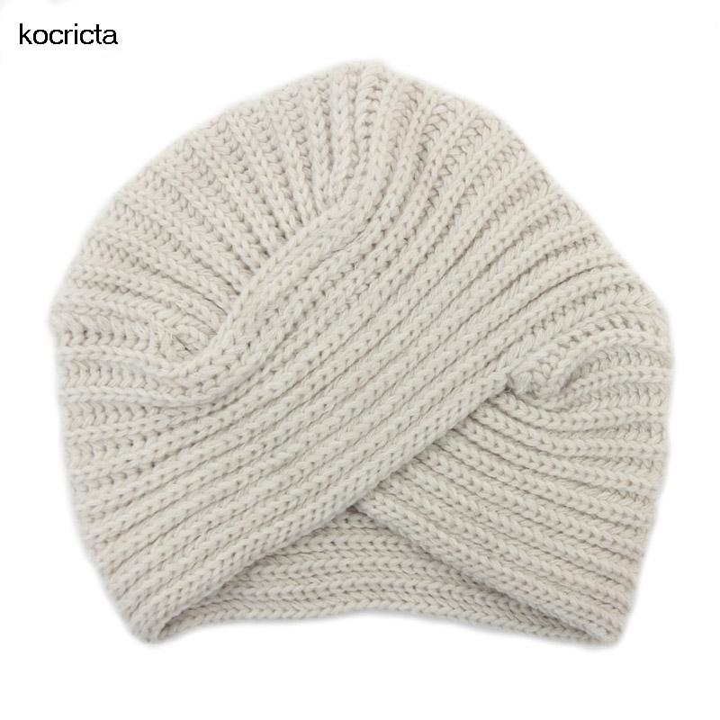 Women Knitted Tubrn Beanie Hat Autumn Winter Lady Solid Blank India Cap  Beanie Caps Slouchy Beanie Crochet Pattern From Saucy 63dd10bae6c