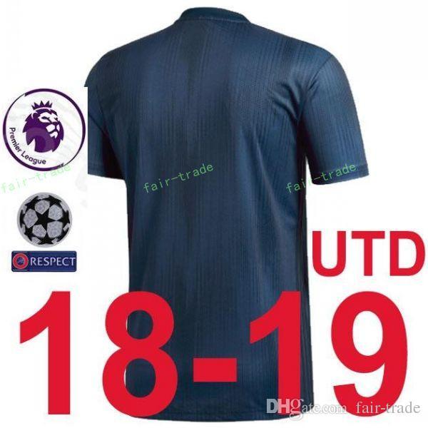 81cb3384d61 2018 2019 Premier League Man United Soccer Jersey Set 14 Jesse Lingard 10  Marcus Rashford Juan Mata Football Shirt Kits With Pant Manchester Canada  2019 ...