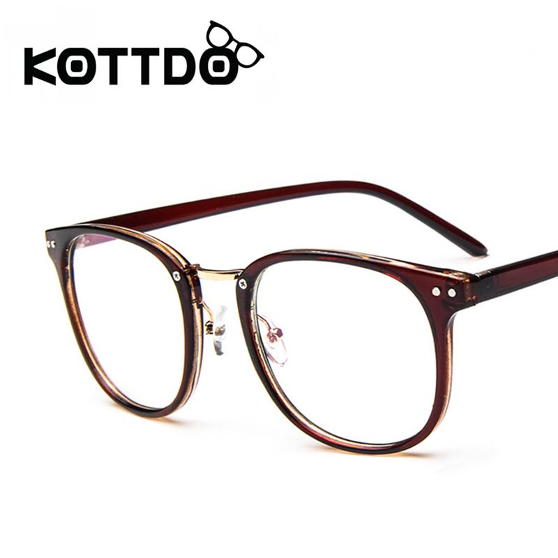 63a6cedaef KOTTDO Vintage Metal 2017 Optical Glasses Frame Women Fashion Brand  Designer Men Women Eyeglasses Frames Round Crystal Eyewear Brand Eyewear  Designer ...