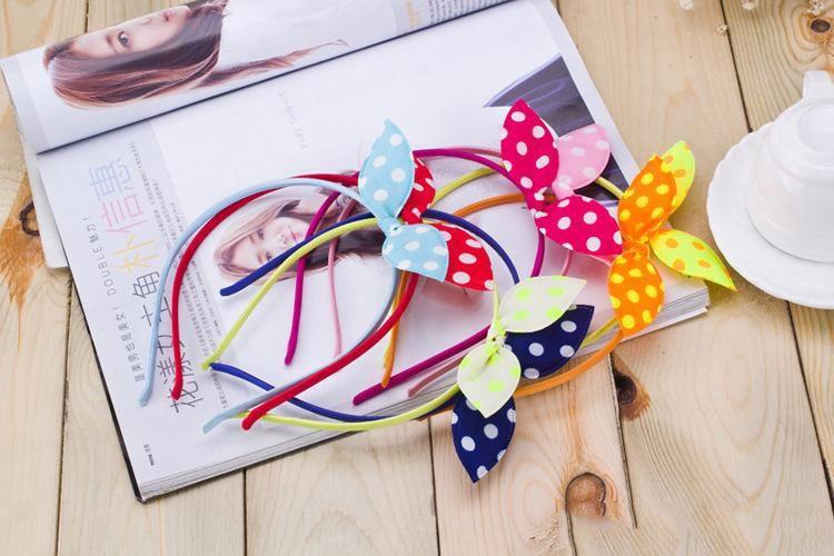 Girl Hair Accessories Set Bow Knot Kid Hair Clip Hairbands Children Elastic Band Korean Hair Decorations b942