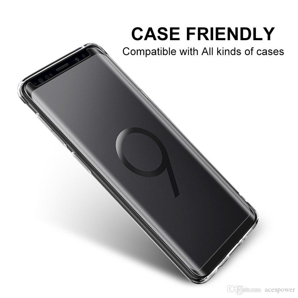 Case Friendly Tempered Glass For Samsung Galaxy S20 S9 Note 20 Ultra 10 S8 Plus Mate 30 Pro 3d Curved Version Screen Protector