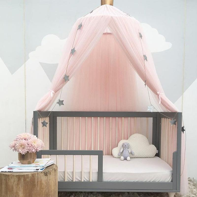Round Dome Mosquito Net Canopy Curtain Bed Tent Circular Hanging Mosquito Net Home Decor Solid Color For Children Girl Room Mosquito Spray Systems Masquito ... & Round Dome Mosquito Net Canopy Curtain Bed Tent Circular Hanging ...