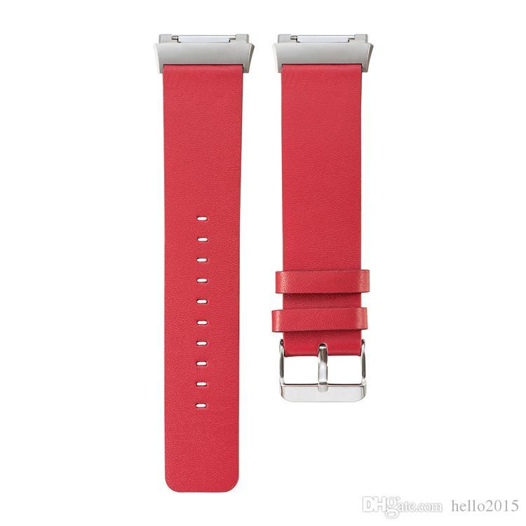 Fitbit İyonik bant Için deri değiştirme Kayışı fitbit İyonik spor kemer Için akıllı Bileklik Bilezik aksesuarları