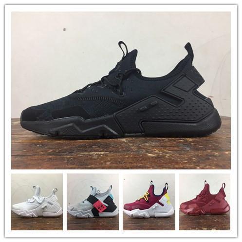 eb5464903d8d6 Huarache 6.0 Running Shoes Knit Designer Shoes Sneakers Luxury Black ...