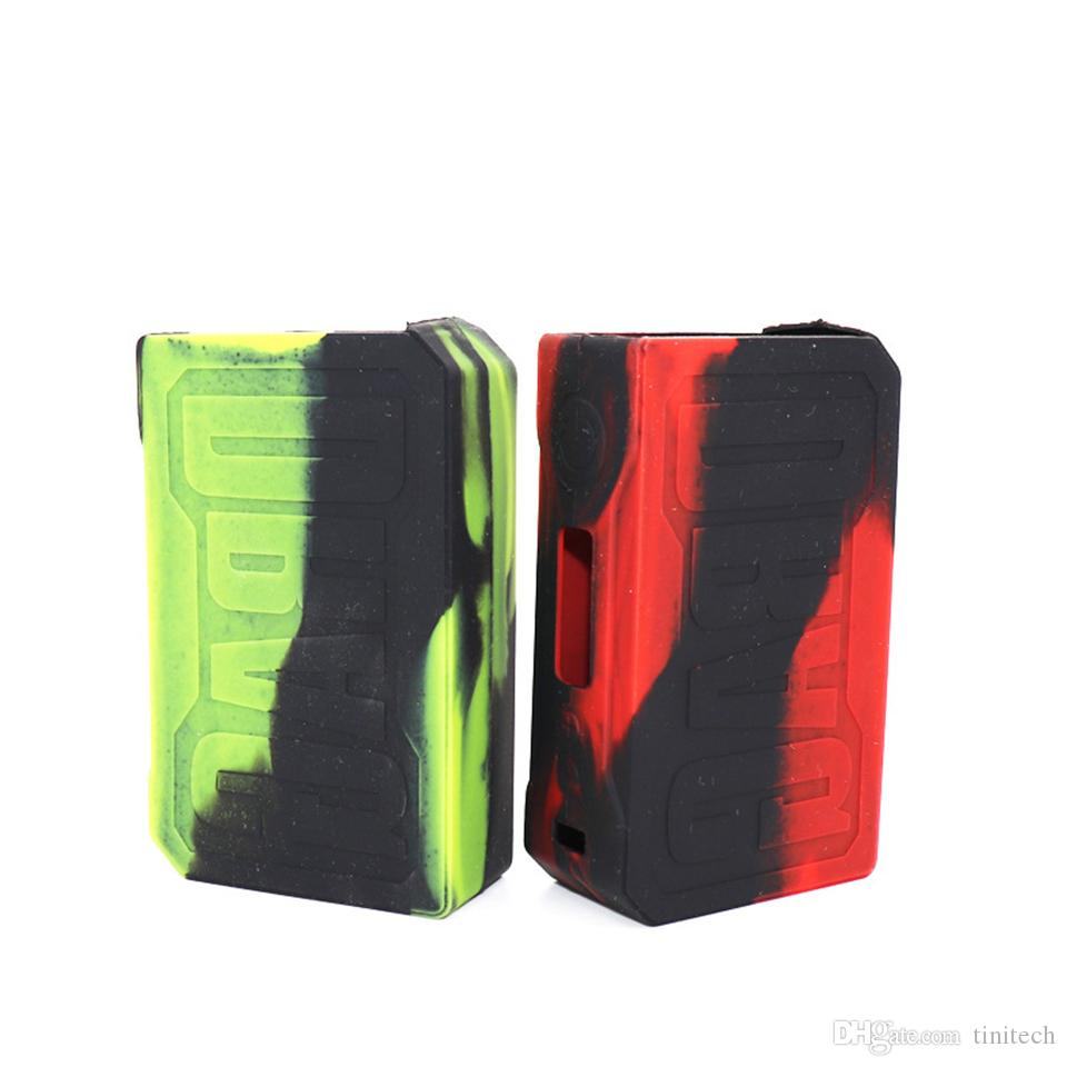 VOOPOO DRAG 157W Silicone Case Protective Cover Silica Gel Skin for VOOPOO DRAG 157 W TC Box Mo New Silicon Cases Bag Colorful Rubber Sleeve