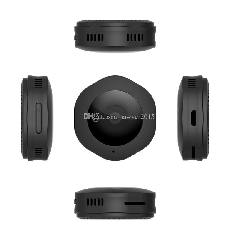 H6 mini caméra de poche wifi micro DV DVR DVR HD Night Vision Vision de la nuit Détection de mouvement Caméra de Body Wireless Network Monitor Caméra de vélo