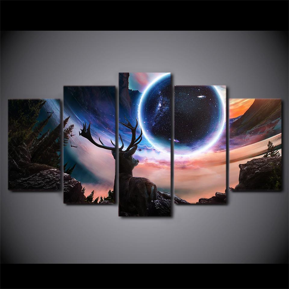 2019 Simple Geometric Poster Hd Wall Modular Art Prints Pictures 5