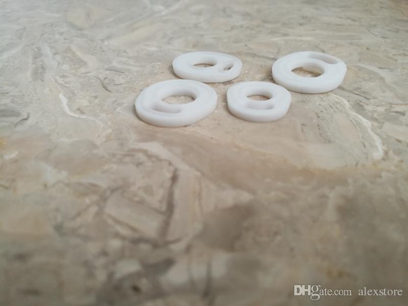 SÓLO White Pad Silicone O ring Silicon Seal O-rings reemplazo Orings para TFV4 TFV8 TFV8 bebé X Big TFV12 Prince Atomizer DHL