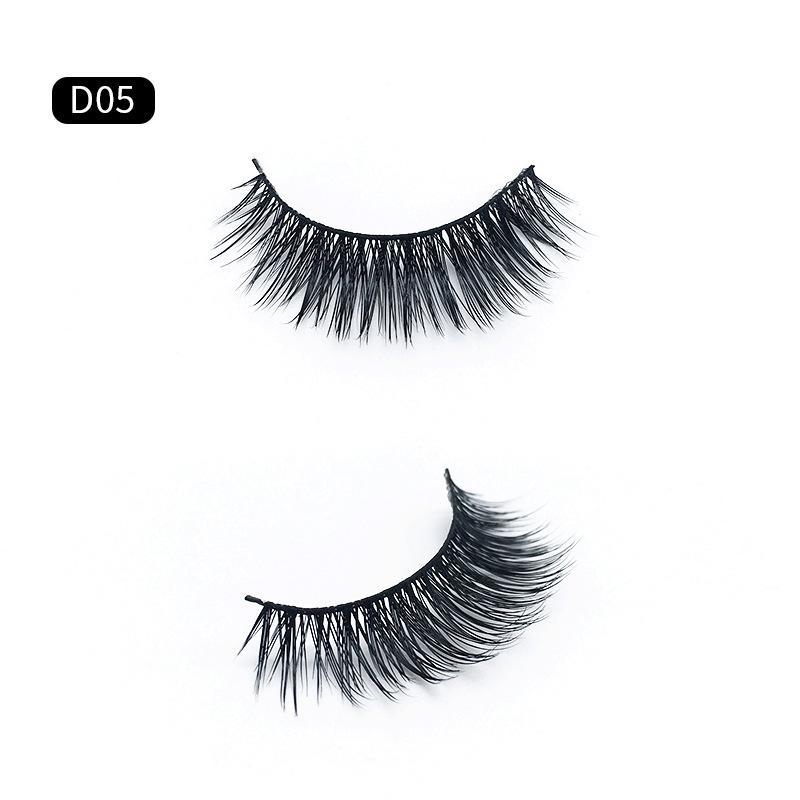 adbff8cb59d Best Selling in amazon 2018 Beauty mink eyelashes Natural long 3d eyelashes  3d mink lashes hand