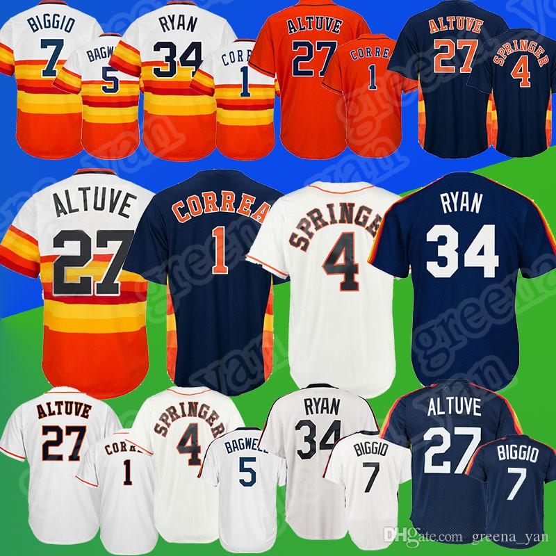 best website 08ff6 5adb2 low price 4 george springer jersey 894f7 bae0e