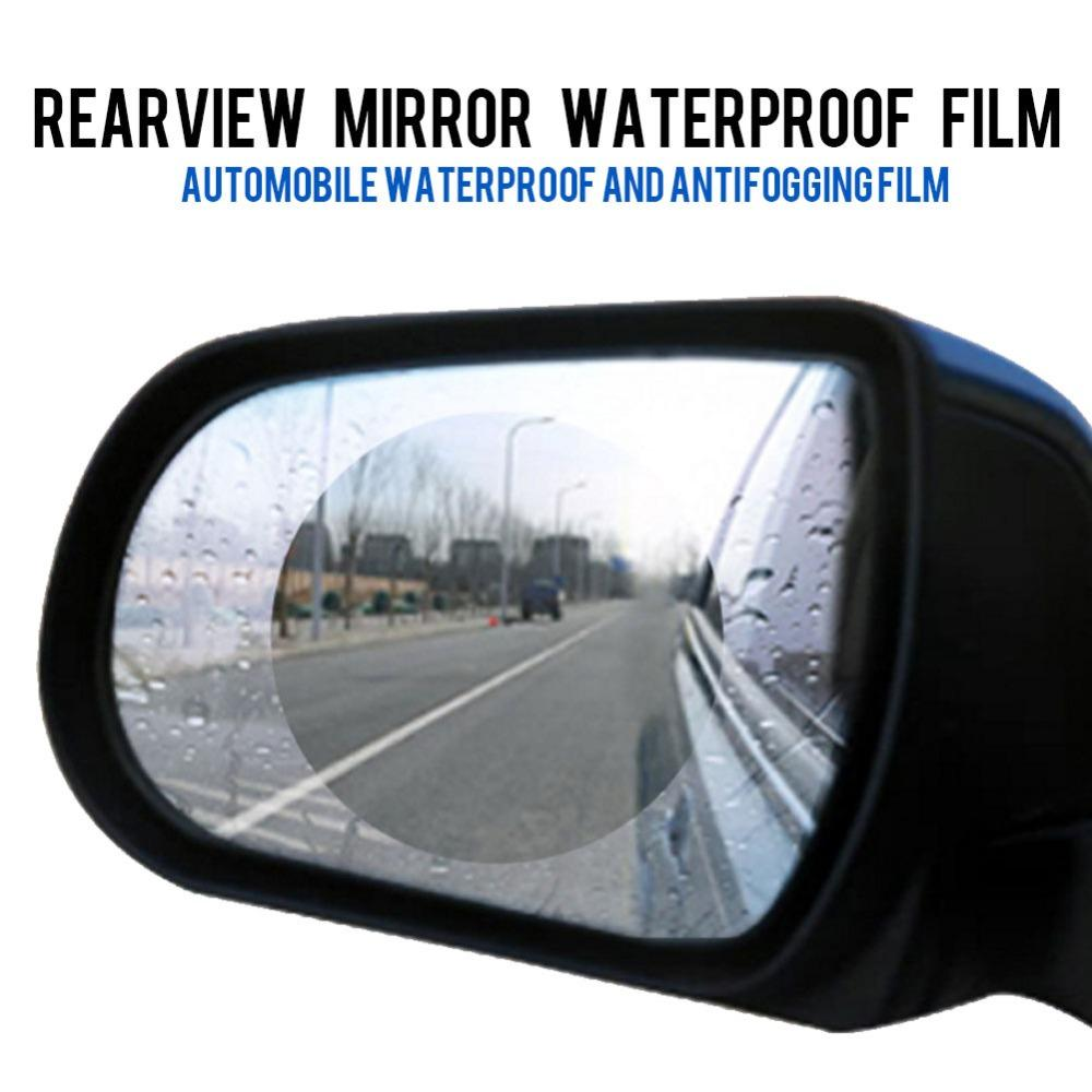 Car Rearview Mirror Protective Film Anti Fog Film Anti Glare