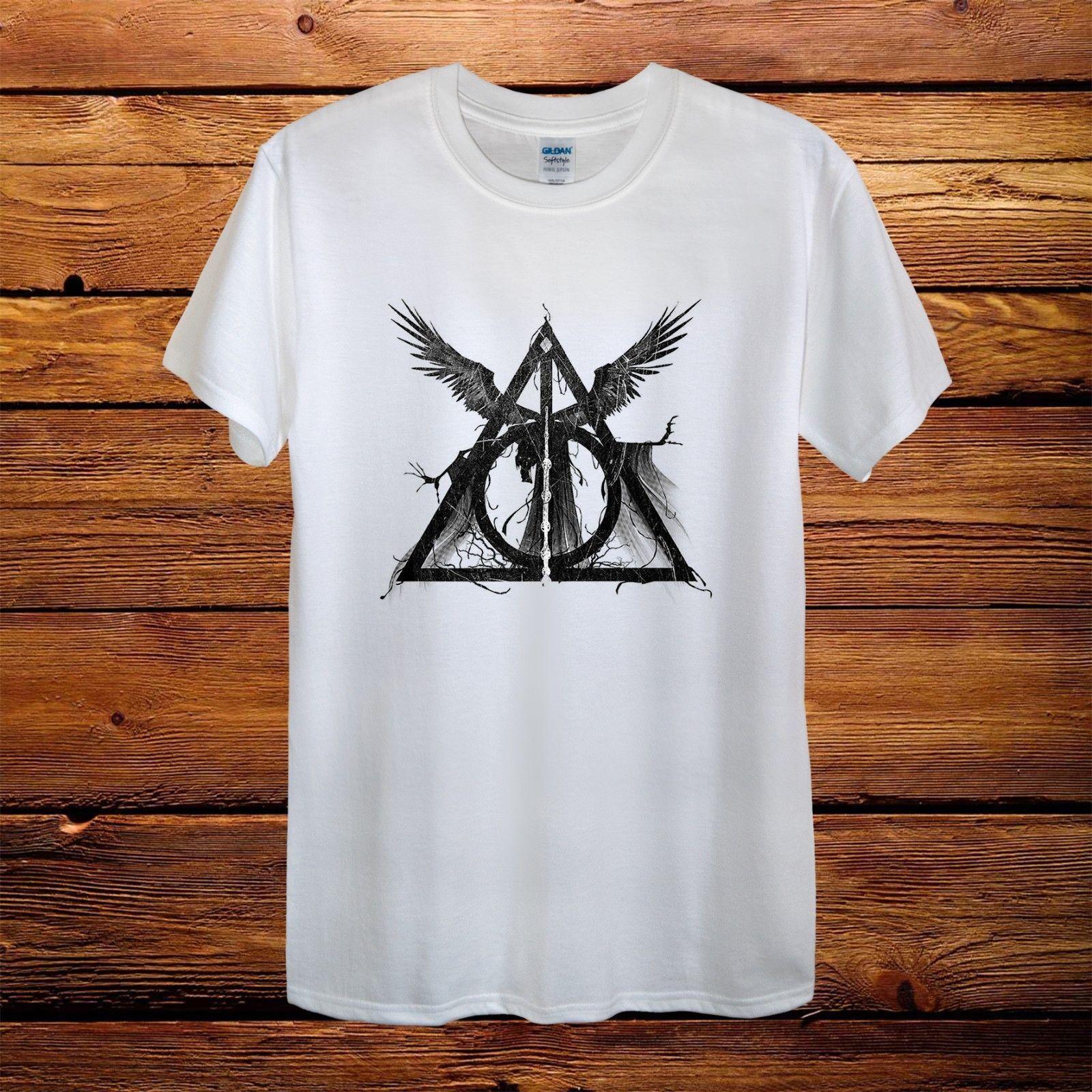Design T Shirt | Grosshandel Harry Potter Zeichen Neues Design T Shirt Von