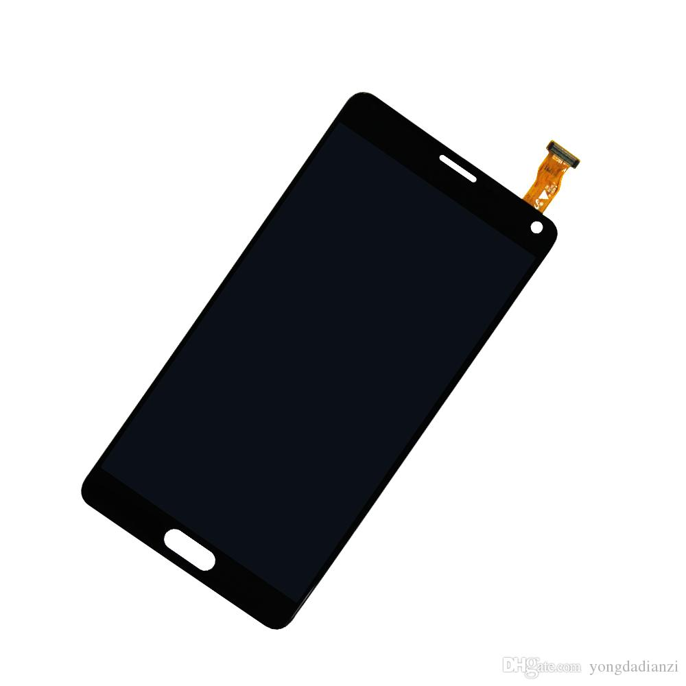 Original 5.7 '' Pantalla AMOLED para SAMSUNG Galaxy Note 4 Pantalla LCD Note4 N910 Digitalizador de pantalla táctil N910A N910F N9100 Reemplace