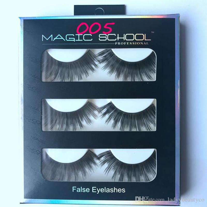 Silk Human Hair EyeLashes False Eyelash Extension Eyelash Tool set High Quality Soft Human Hair Black Long Cross Thick Curl False Eyelashes