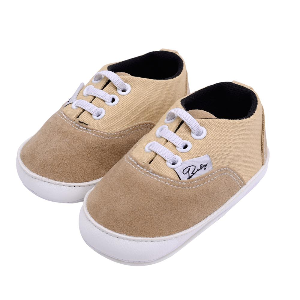 2019 Classic Canvas Walking Shoes For Baby Boy Anti Slip Casual ... 21619fe00693