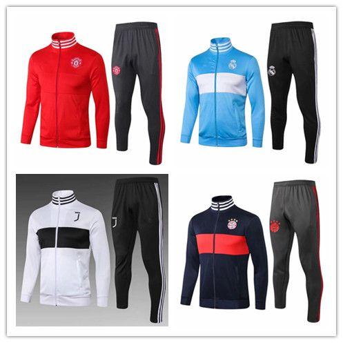 9d13fe2c266 2019 2018 2019 Bayerns JUVENTUS Jacket WITH PANTS 18 19 Koreas Real Madrid  Jacket FULL SET SweatWEAR KANTE HAZARD Football Jacket Tracksuit From  Qy198411111 ...
