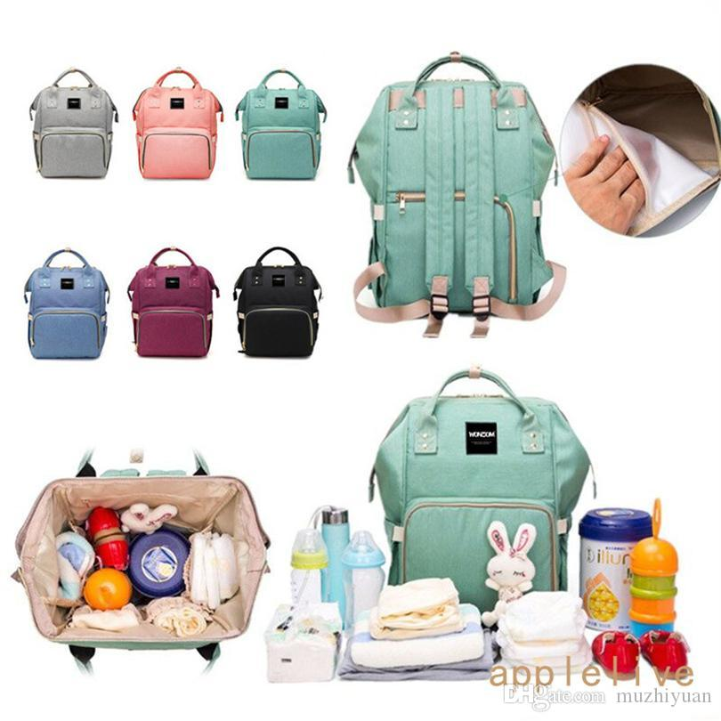 30ce4ba578 Wholesale Diaper Bag Backpack Nappy Baby Boys Girls Mommy Tote ...